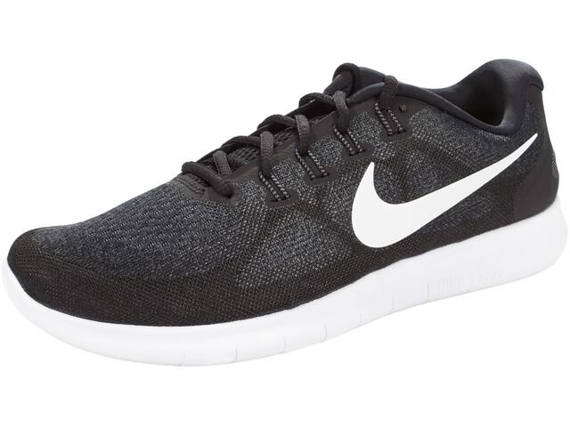 Nike Free RN 2 Running Shoes Men black/white-dark grey-anthracite